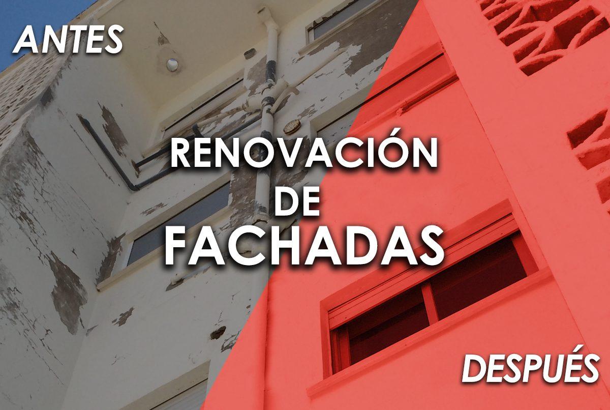 RENOVACION FACHADAS La dorada