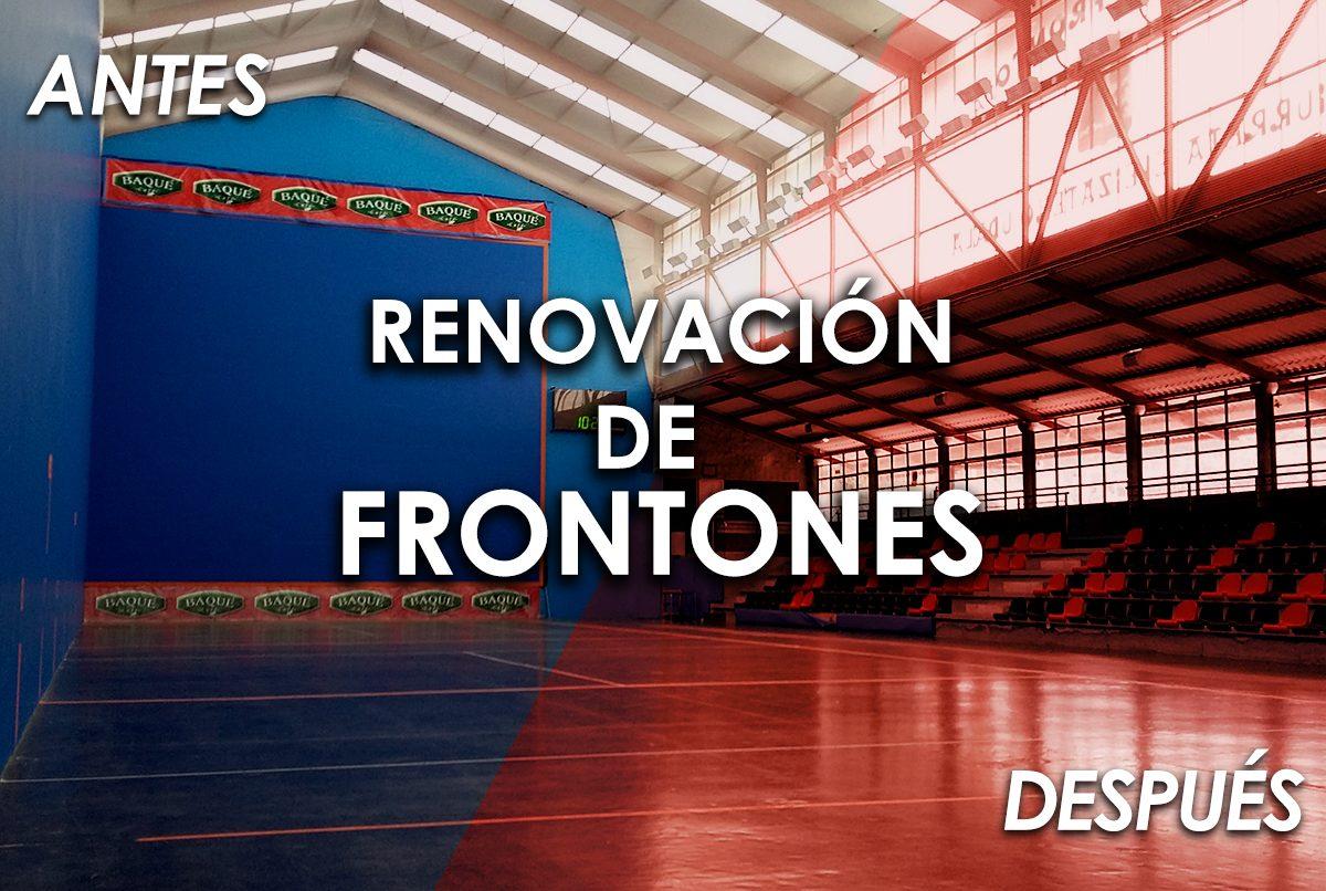 RENOVACION FRONTONES
